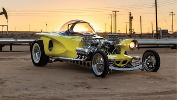 Ed Roth's Mysterion is gone, but one superfan built his own and it's up for auction