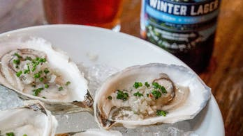 Oyster Escabeche with Dark Lager