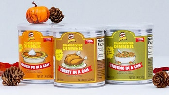 Thanksgiving-flavored Pringles sell out in 41 minutes