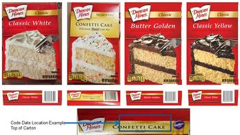 Duncan Hines cake mixes recalled over potential salmonella contamination, FDA says