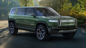 The Rivian R1S electric SUV is a very green off-road machine