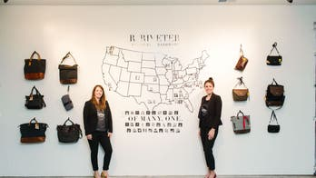 An American handbag company is changing the lives of U.S. military spouses everywhere