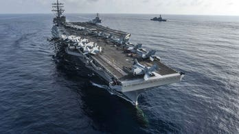 USS Ronald Reagan fighter jet crashes in carrier's second aviation incident in less than a month