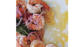 Shrimp in Escabeche