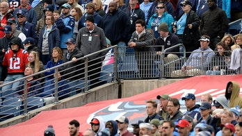 Fan reaching for free shirt at Titans game critical after fall over railing