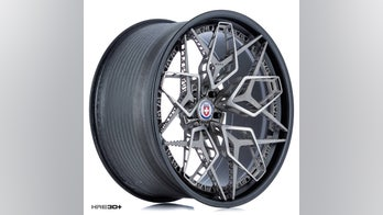 GE and HRE's astonishing 3D-printed titanium wheels are very twisted metal