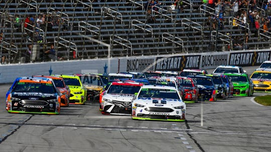 Two NASCAR fans overcome by carbon monoxide at Texas track