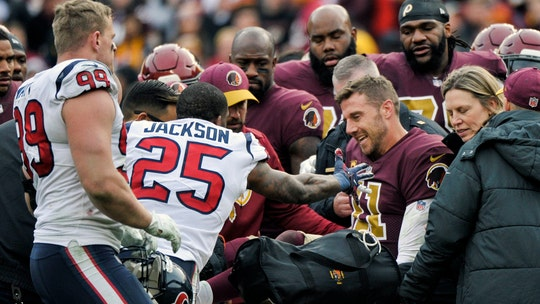 Washington Redskins QB Alex Smith's wife shares touching tribute video on his recovery