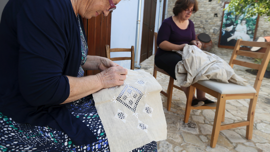 A stitch in time: Cyprus' Lefkaritiko lace faces grim future