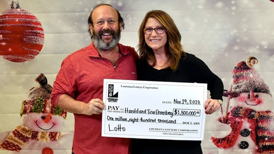 Louisiana couple finds winning $1.8M lotto ticket while cleaning house, weeks before it expires