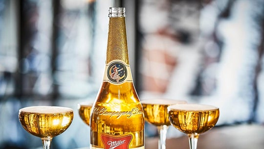Miller High Life, the 'Champagne of Beers,' is debuting Champagne-sized bottles for the holidays