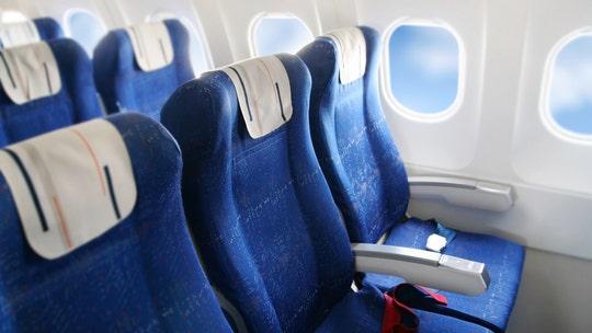 Flight attendant draws window for passenger stuck in windowless seat