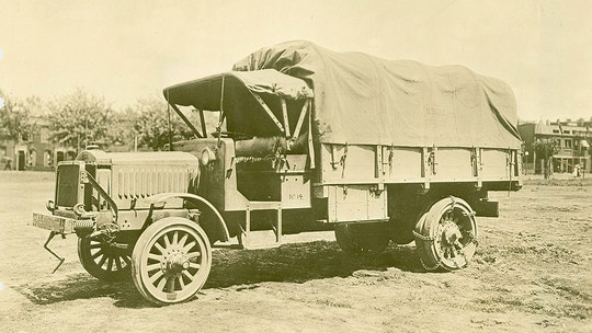 The World War 1 Liberty Truck put the U.S. Military on wheels