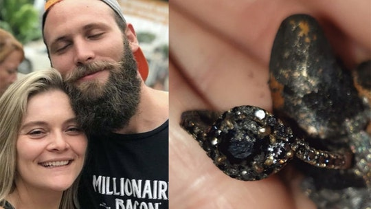 Man finds engagement ring in rubble after California Camp Fire destroys home