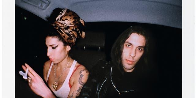 Amy Winehouse and Blake Wood. Courtesy of Blake Wood