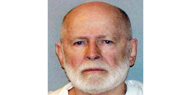"This file booking photo provided by the U.S. Marshals Service shows James ""Whitey"" Bulger."
