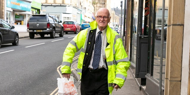 """""""I believe I am probably the oldest person delivering Indian takeaways in the British Isles. People have asked how I do it but according to the medics I am 100% fit. I think the secret is not drinking or smoking,"""" the octogenarian said."""