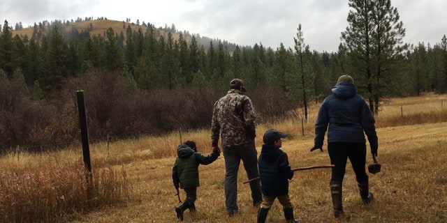 """Adam Shaw, a Montana resident, says the outdoors is how his family spend time and bond together. He believes public lands """"have to stay within control of the federal government."""""""
