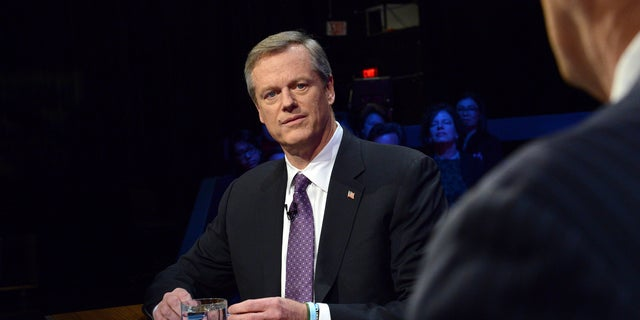 "Massachusetts Gov. Charlie Baker said he ""misspoke"" when he refused to endorse another Republican during a debate."