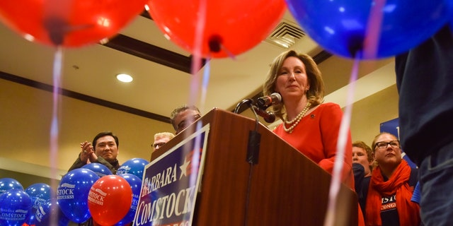 Rep. Barbara Comstock has served in Congress since 2015.