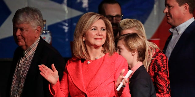 Rep. Marsha Blackburn is the first woman elected to the U.S. Senate in Tennessee.