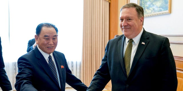 Kim Yong Chol, a senior North Korean envoy's meeting with U.S. Secretary of State Pompeo has been delayed, throwing already deadlocked diplomacy over the North's nuclear weapons into further uncertainty.