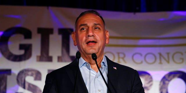 Democrat Gil Cisneros is now leading the race.