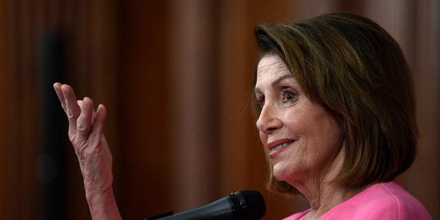 Rep. Nancy Pelosi, D-Calif., was the first woman to serve as House Speaker.