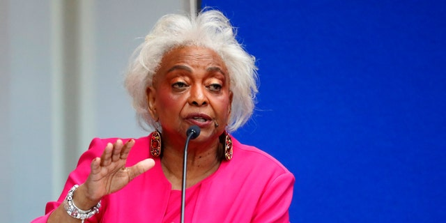 Broward County Supervisor of Elections Brenda Snipes answers questions at the Supervisor of Elections office Monday, Nov. 12, 2018, in Lauderhill, Fla.
