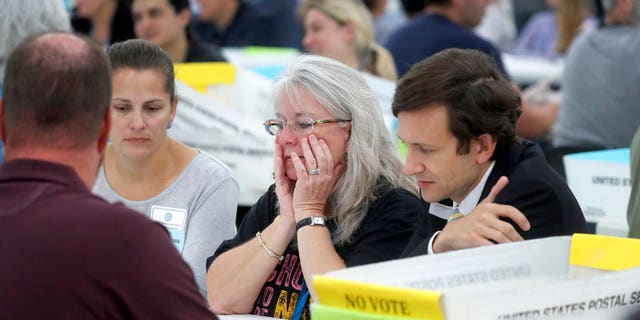 "On Saturday, the volunteers started sorting about 22,000 undervotes and overvotes in the contentious contest for Florida Commissioner of Agriculture.<br data-cke-eol=""1"">"
