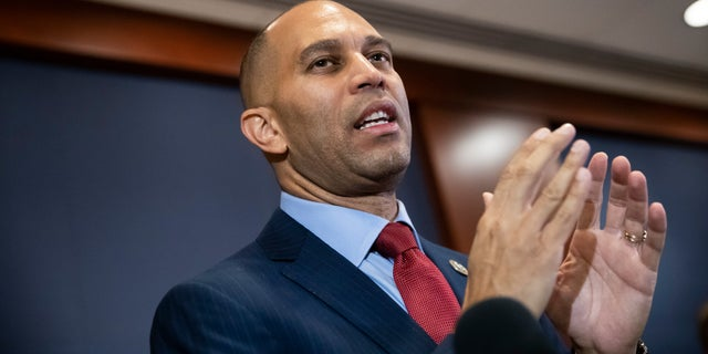 Rep. Hakeem Jeffries, D-N.Y., is a former lawyer and state Assemblyman from New York.
