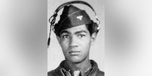Lawrence Dickson in an undated photo. (Defense POW/MIA Accounting Agency via AP)