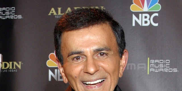 Casey Kasem is pictured in Las Vegas in 2003.