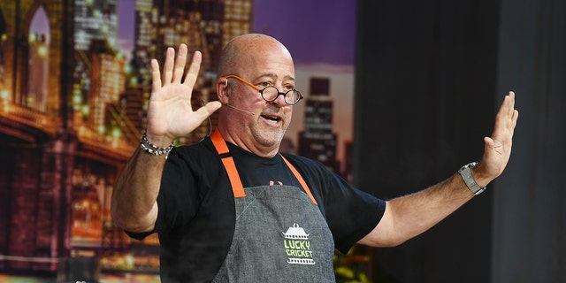 Celebrity Chef Andrew Zimmern pronounced he didn't showering for a year and slept on a building in an deserted residence while battling addiction.
