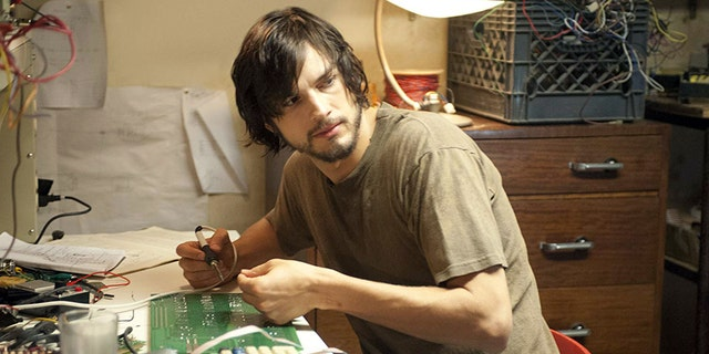 "Ashton Kutcher in ""Jobs."""