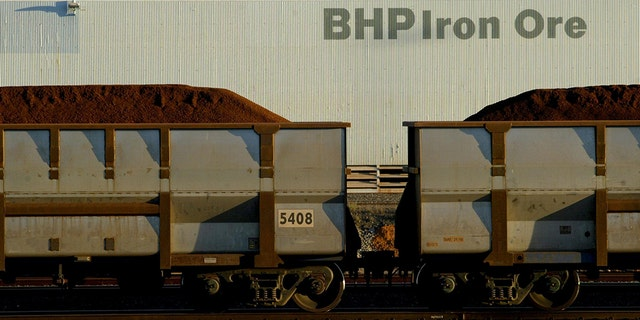 A runaway BHP iron ore train traveled for nearly 60 miles before it was deliberately derailed on Monday, according to officials.