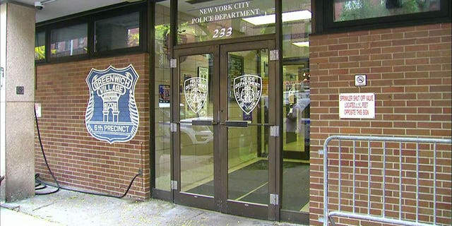 Baldwin was placed into custody and taken to the NYPD's 6th precinct after allegedly punching a man in the face over a parking spot.