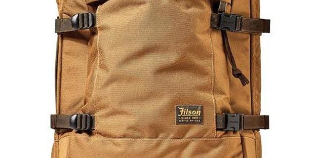 <br>Ballistic Nylon Dryden rolling 2-wheel carry-on bag (Filson)