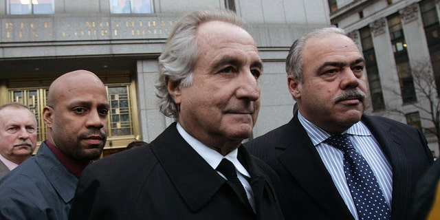 Bernie Madoff, center, is among the high-profile inmates seeking release during the coronavirus outbreak.
