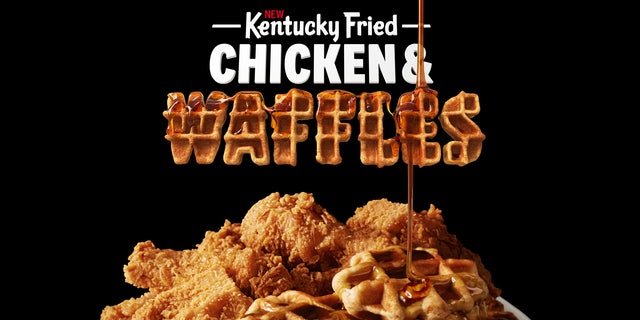 Fans can order Kentucky Fried Chicken and Waffles several different ways.