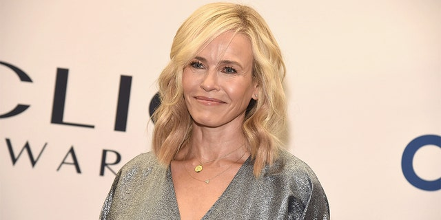 Chelsea Handler reveals that she injured herself while skiing in Canada.