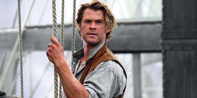 "Chris Hemsworth in ""In the Heart of the Sea."""