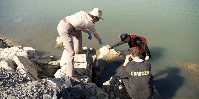 Investigators recover Kristin David's remains from the Snake River. — ID