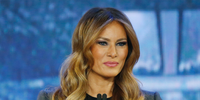 """Chuck Todd:""""Melania Trump, my guess is she'd be happy. She would be living in New York still, and guess what? She really wouldn't have to care, would she?"""" (AP)"""