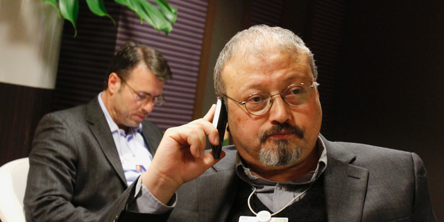 Jamal Khashoggi, seen here in 2011, vanished this past October. (AP Photo/Virginia Mayo, File)