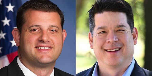 The race between Rep. David Valadao (left) and TJ Cox (right) is ranked as leaning Republican.