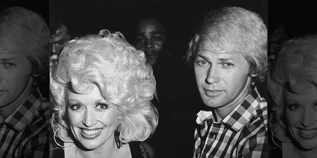 Dolly Parton and husbandCarl Thomas Dean, right, married in 1966.