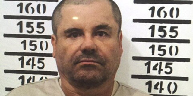 "FILE - In this Jan. 8, 2016, file image released by Mexico's federal government, Mexico's most wanted drug lord, Joaquin ""El Chapo"" Guzman, stands for his prison mug shot with the inmate number 3870 at the Altiplano maximum security federal prison in Almoloya, Mexico. Emma Coronel, the common-law wife of Guzman said Monday, Feb. 29. 2016, that his health problems have gotten ""a lot worse"" because guards at a maximum security prison rouse him for head counts, interfering with his sleep. (Mexico's federal government via AP)"