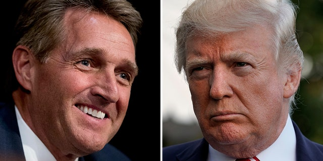 Arizona GOP Sen. Jeff Flake is considering a 2020challenge of President Trump.
