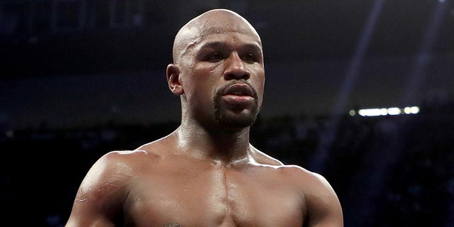 Floyd Mayweather announced plans for his next fight on Monday.